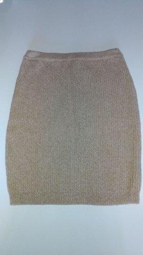 Pinko Jupe tricotée beige mohair