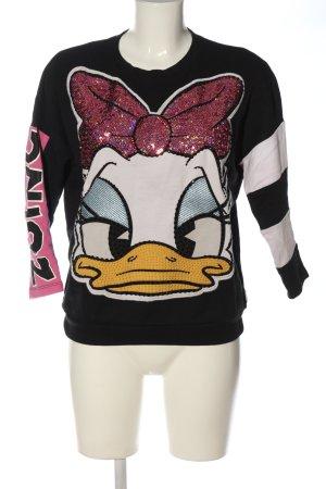 Pinko Sweatshirt Motivdruck Casual-Look