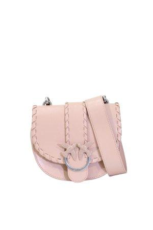 Pinko Umhängetasche in Rosa aus Leder