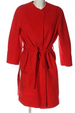 Pinko Cappotto in lana rosso stile casual