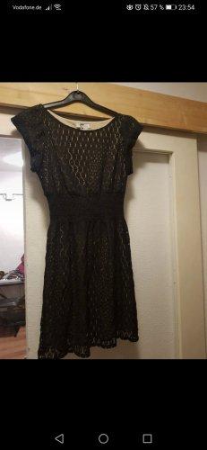 Pinky Kleid Gr. M 36 38 Sommerkleid schwarz beige