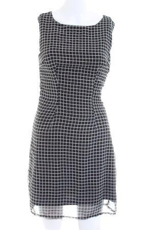 Pinky Minikleid schwarz-weiß Allover-Druck Casual-Look
