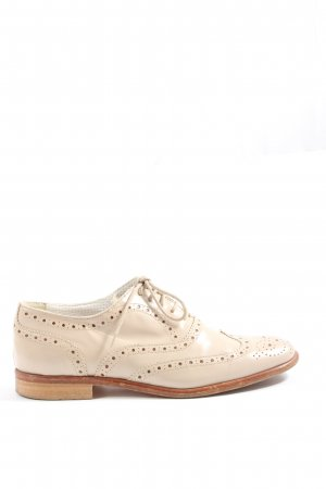 Pino Convertini Lace Shoes natural white casual look