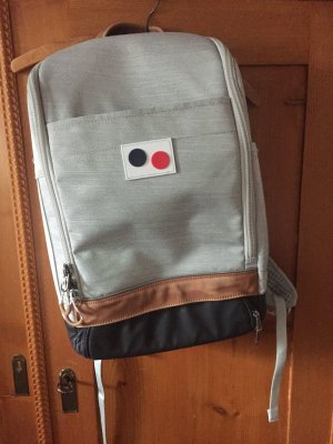 pinqponq Plecak Wielokolorowy Tkanina z mieszanych włókien