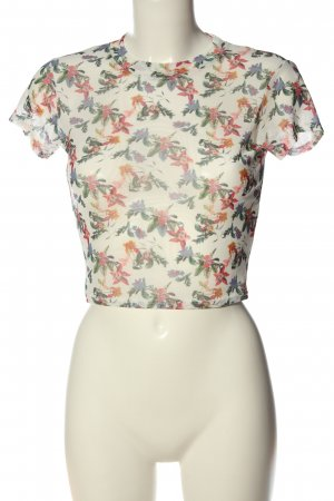 Pins and Needles Cropped Shirt Allover-Druck Casual-Look
