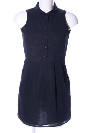 Pins and Needles Abito blusa camicia blu stile casual