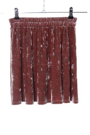 Pins and Needles Minirock braun Farbverlauf Casual-Look