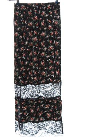 Pins and Needles Koronkowa spódnica Wzór w kwiaty W stylu casual