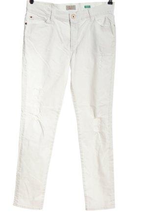 Pioneer High Waist Jeans weiß Casual-Look