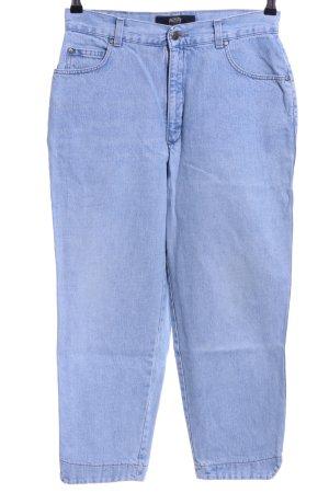 Pioneer Karottenjeans blau Casual-Look