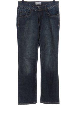 Pioneer Straight-Leg Jeans blau Casual-Look