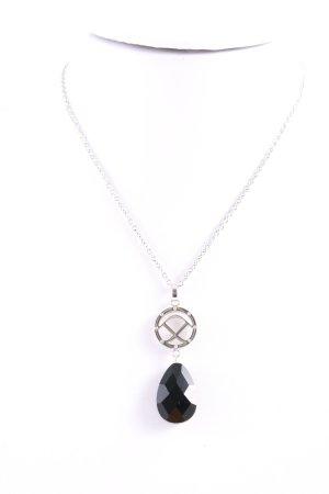Pippa & Jean Pendant silver-colored-black elegant