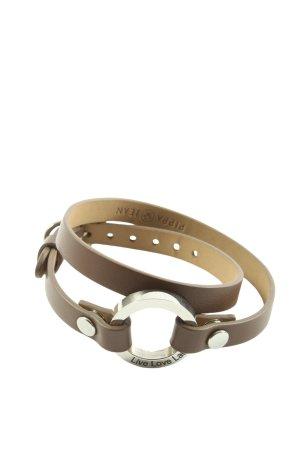 Pippa & Jean Armband braun Casual-Look