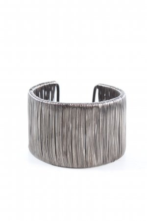 Pippa & Jean Mouwband zilver casual uitstraling