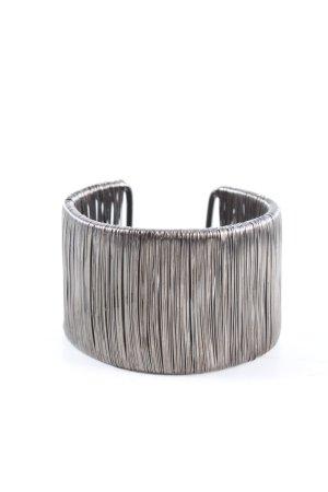Pippa & Jean Sztywna bransoletka srebrny W stylu casual