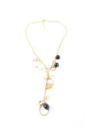 Pippa & Jean Halskette goldfarben-schwarz Elegant