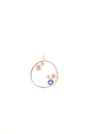 Pippa & Jean Silberring silberfarben-blau Casual-Look