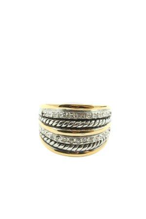 Pippa & Jean Anillo de cuentas color plata-color oro look casual