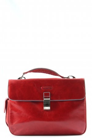 Piquadro Briefcase red casual look