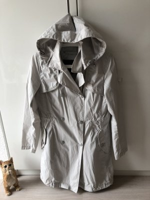 Piquadro Manteau à capuche gris clair
