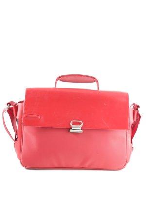 Piquadro Funda para portátil rojo estilo «business»