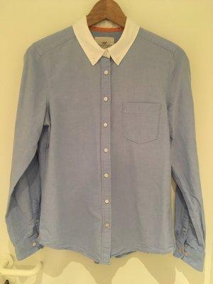 Piqué-Bluse von H&M in Größe 38