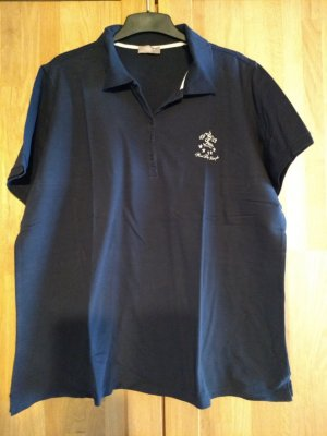 Triangle Camiseta tipo polo azul oscuro