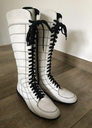 Pirelli Aanrijg laarzen wit