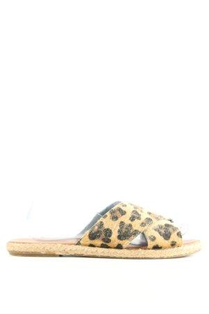 piriltishoes Sandalias de playa estampado de leopardo look casual