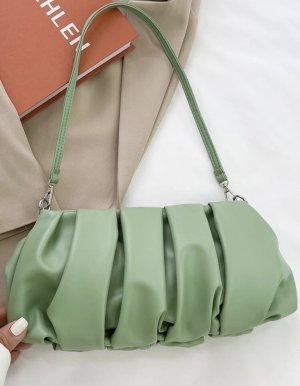 Pistaziengrüne Tasche Neu