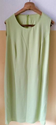 Pistaziengrünes Etuikleid mit passender Jacke, Gr. 44