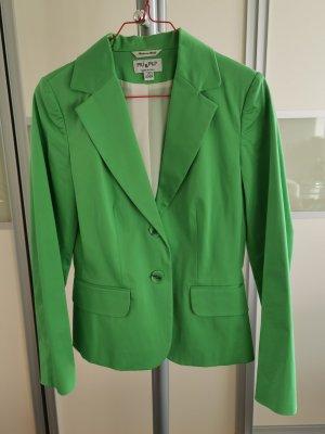 PIU & PIU Blazer Jacke grün giftgrün Gr. 36