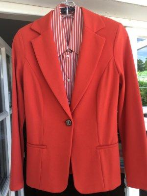 Piu Più , Blazer orange, Gr. Dt. 38, IT 44, vielfältig zu kombinieren, Stretchig