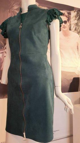 piu piu Designer kleid alcantara kadettblau pullover small