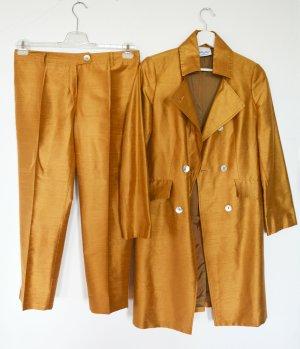 Piu Piu Hosenanzug aus Wildseide Anzug Gehrock Hose