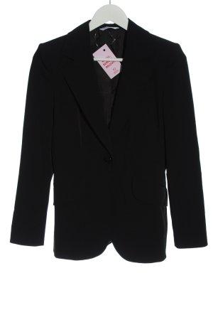 Piú & Piú Klassischer Blazer zwart casual uitstraling