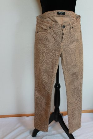*PIU & PIU Made in Italy *Skinny Stretch Jeans in LEO LOOK