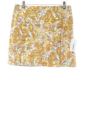 Piú & Piú Minirock florales Muster klassischer Stil