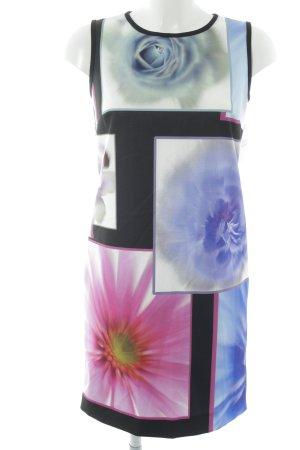 Piú & Piú schulterfreies Kleid Blumenmuster Elegant