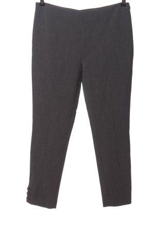 Piú & Piú Pantalone jersey grigio chiaro puntinato stile professionale