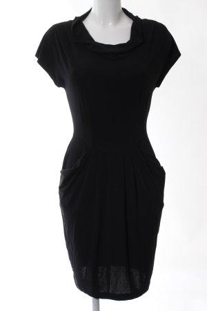 Piú & Piú Stretch Dress black mixture fibre