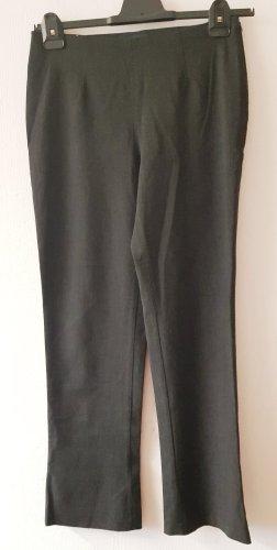 Piazza Sempione Pantalone di lana nero-antracite