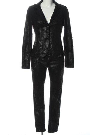 place de jour Tailleur-pantalon noir élégant