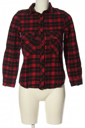 place du jour Lumberjack Shirt black-red check pattern casual look