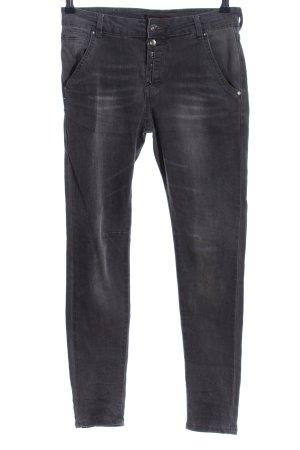 place du jour Skinny Jeans hellgrau Casual-Look