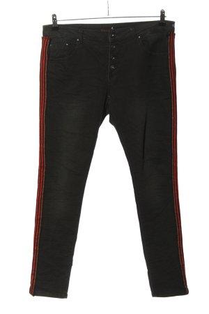 place du jour Slim Jeans schwarz Casual-Look