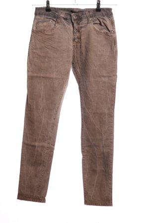 place du jour Slim Jeans braun Casual-Look