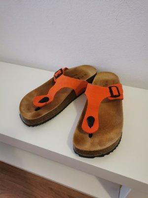Plakton Toe-Post sandals orange-neon orange