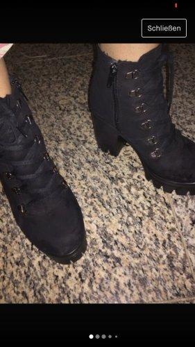 High Heel Boots black