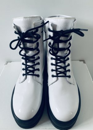 Tommy Jeans Aanrijglaarsjes wit-zwart